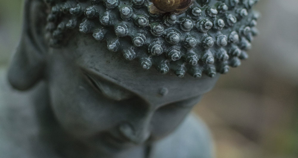 Buddha als Symbol für Meditation Graz